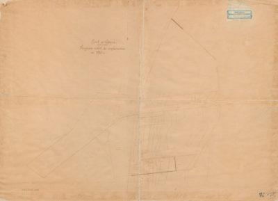 Plan portu w Gdyni. Program robót do wykonania w 1925 r.