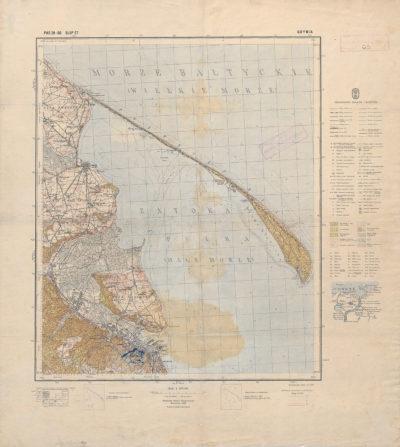 Mapa Wybrzeża Wschodniego