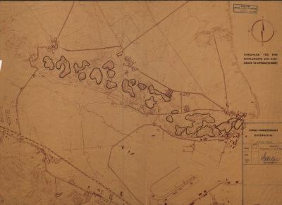 Plan: Vorschlag für eine Repflanzung der Kahlänge in Gotenhafen- Oxhöft.