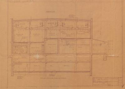 Plan budynku rzeźni eksportowej