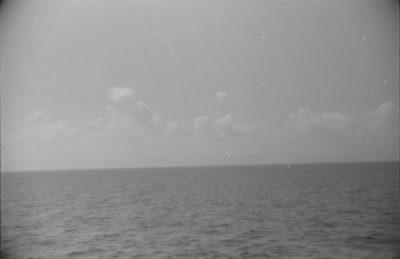 Pejzaż morski – widok z żaglowca