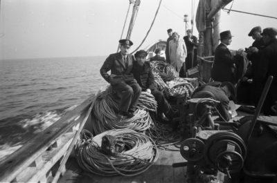 Pokład kutra rybackiego