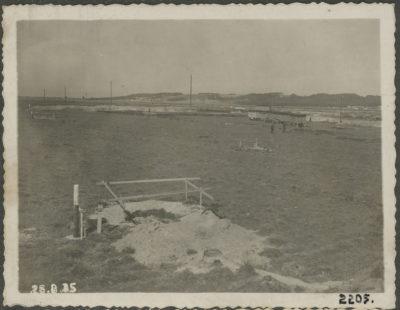 Teren budowy elektrowni parowej w Gdyni – rozpoczęcie wykopu