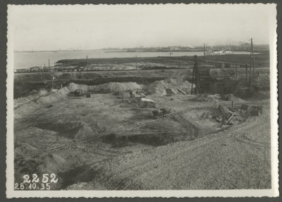 Teren budowy elektrowni parowej w Gdyni