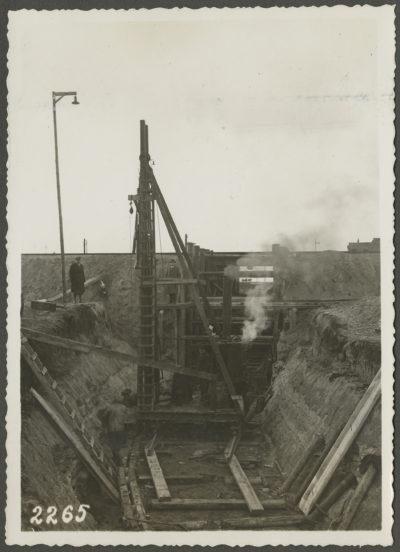 Kafar w kanale poboru wody w elektrowni parowej w Gdyni