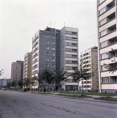 Osiedle wielokondygnacyjnych budynków mieszkalnych przy ul. Migały (ob. Wójta Radtke)