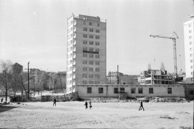 Gdynia Wzgórze Nowotki (ob. Św. Maksymiliana) – budowa osiedla wieżowców przy ul. Partyzantów