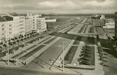 Skwer Kościuszki podczas okupacji niemieckiej