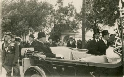Pierwsza wizyta prezydenta Ignacego Mościskiego w Gdyni