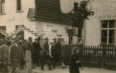 Marszałek Józef Piłsudski z wizytą na Helu