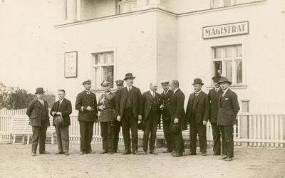 Członkowie pierwszej Rady Miejskiej