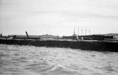 Fragment portu wewnętrznego w Gdyni