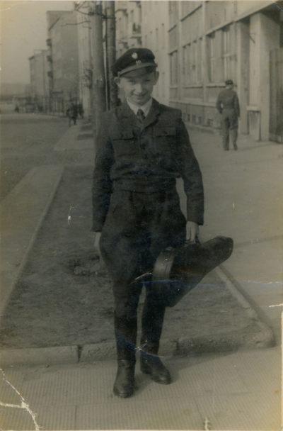 Uczeń Szkoły Podstawowej nr 19 przy ul. 10 Lutego w Gdyni