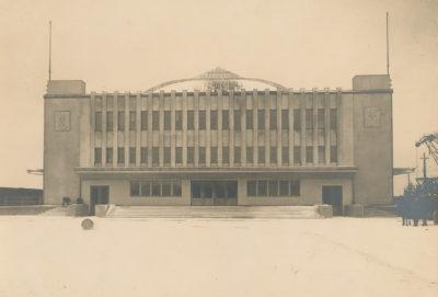 Dworzec Morski w Gdyni – fasada