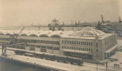 Nabrzeże Francuskie – Dworzec Morski i Magazyn Tranzytowy w Gdyni
