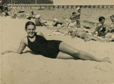 Pamiątka z plaży orłowskiej