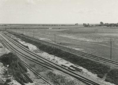 Tory kolejowe w rejonie portu we Władysławowie