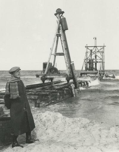Budowa portu we Władysławowie – kafary