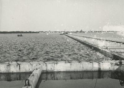 Budowa portu we Władysławowie