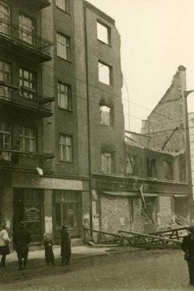 Rozbiórka budynku przy ul. Świętojańskiej 72