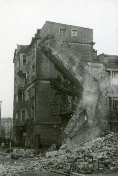 Rozbiórka budynku przy ul. I Armii Wojska Polskiego 3