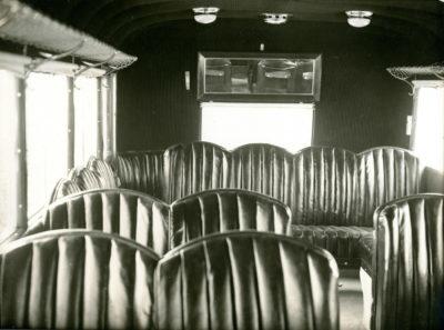 Wnętrze autobusu MTK w Gdyni
