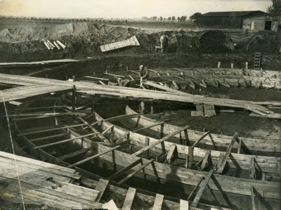 Budowa zbiornika wodnego na Obłużu