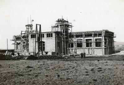 Budowa budynku stacji pomp