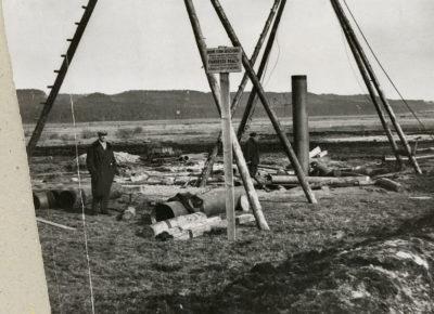 Budowa studni artezyjskiej