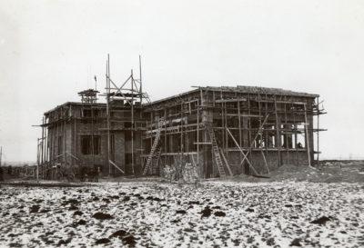 Budowa hali maszyn głównego ujęcia wody dla Gdyni