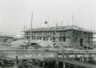 Budowa magazynu przy Molo Rybackim