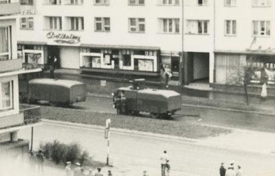 Armatki wodne Hydromil I i Hydromil II na ulicy Władysława IV