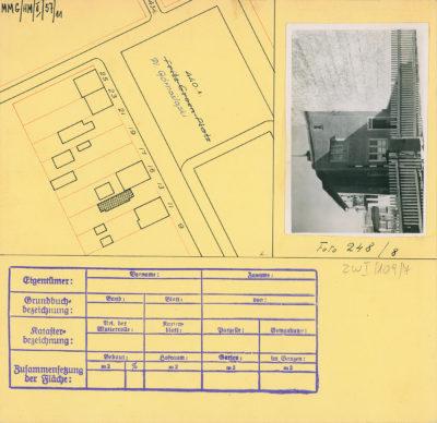 Karta ewidencyjna budynku na Placu Górnośląskim 13