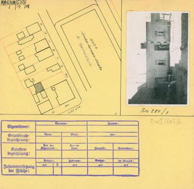 Karta ewidencyjna budynku na Placu Górnośląskim 3a