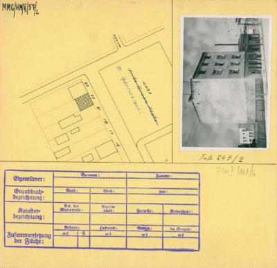 Karta ewidencyjna budynku na Placu Górnośląskim 23
