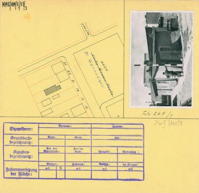Karta ewidencyjna budynku na Placu Górnośląskim 21