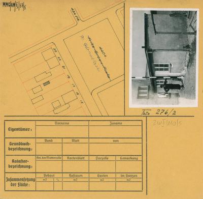 Karta ewidencyjna budynku na Placu Górnośląskim 19N