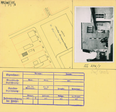 Karta ewidencyjna budynku na Placu Górnośląskim 19