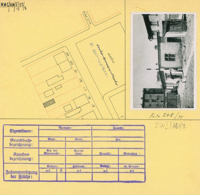 Karta ewidencyjna budynku na Placu Górnośląskim 17