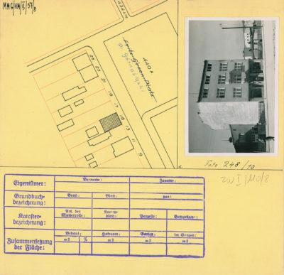 Karta ewidencyjna budynku na Placu Górnośląskim 15