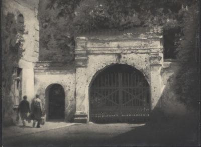 Bez tytułu (brama i furta w Gdańsku Oliwie)