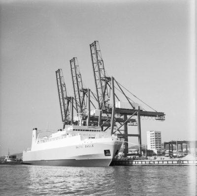 """Baza Kontenerowa w Gdyni – pierwszy statek w bazie """"BALTIC EAGLE"""""""