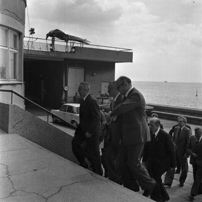 Wizyta Edwarda Gierka w Gdyni