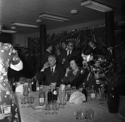 Wizyta Edwarda Gierka w Gdyni – w restauracji
