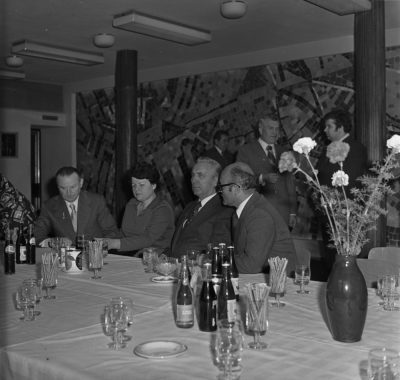 Wizyta Edwarda Gierka w Gdyni – restauracja
