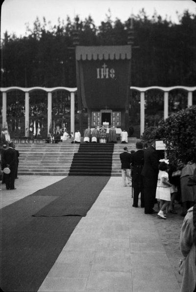 Kongres Eucharystyczny w 1939 roku – Msza Święta na Placu Grunwaldzkim