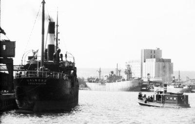 Nabrzeże Indyjskie- statki