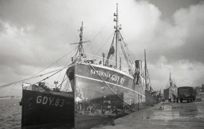 Port rybacki w Gdyni, statki