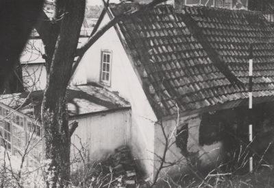 Fotografia oficyny budynku przy ulicy Orłowskiej 8