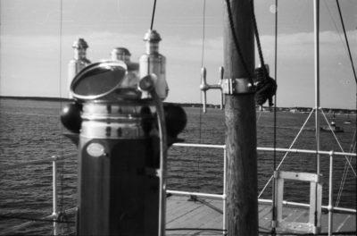 Wyposażenie pokładu – busola i maszt